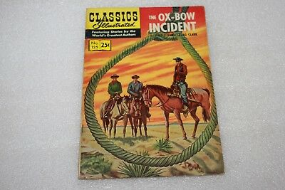 CLASSICS ILLUSTRATED COMIC No 125 THE OX BOW INCIDENT 1969