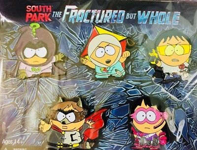 SOUTH PARK THE FRACTURE but WHOLE LIMITED EDITION PINS