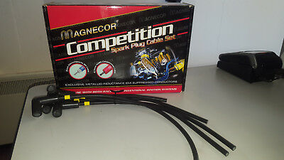 Magnecor 7mm Ignition HT Leads//wire//cable Triumph Dolomite Sprint screw dist cap