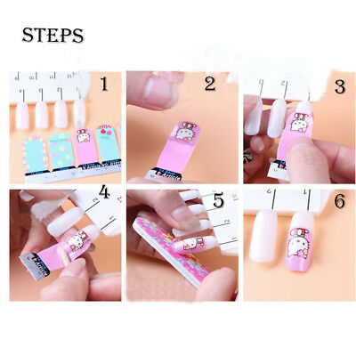 Lovely Girl's 'Art Decals Nail Wraps Sticker Adhesive Polish Foil Decoration New