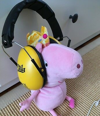 Edz Kidz Ear Defenders Protection for Concerts or Fireworks - Yellow