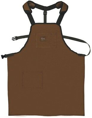 Bucket Boss Brown Home Shop Full Coverage Duck Wear Canvas Super 26.5 in. Apron