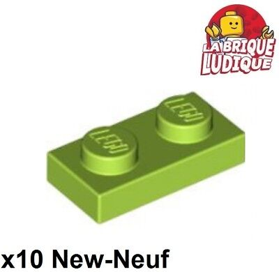 Plate 1x2 With 1 Stud NEUF NEW vert sand green 2 x LEGO 15573 Plaque Tenon