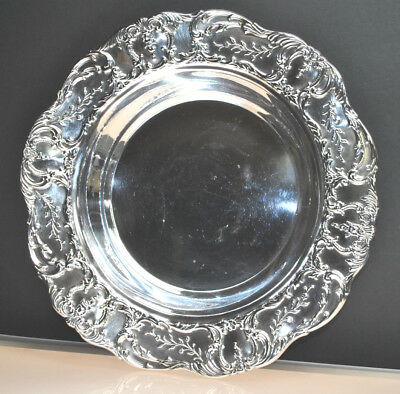 Antique Wallace Grand Victorian Plate Silver Plate Bowl  /Platter Circa 1800'S