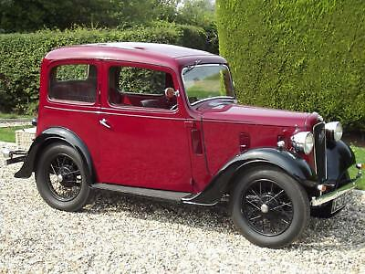 Austin 7 Ruby Saloon