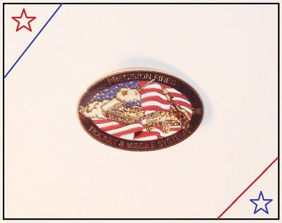 Precision Fires Rocket & Missile Systems Lapel Pin Badge