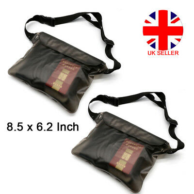 1/2pcsWaterproof Swimming Diving Underwater Phone Dry Shoulder Bag Case Pouch LU