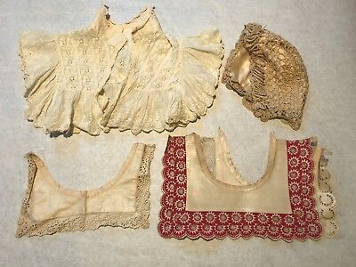 Antique Lace Collars and Lace cap