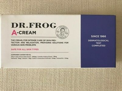 DR. FROG A-Cream Anti-Wrinkle. Whitening Care 30g / 1.06 oz New Sealed Free Ship