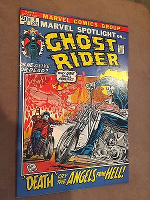 Marvel Spotlight #6 2nd Ghost Rider