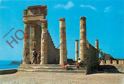 Picture Postcard-:Rhodes, The Acropolis Of Lindos