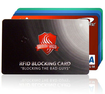 Shimmy Shield RFID Credit & Debit Card Protector Wallet Security (2-Cards)