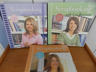 Scrapbooking with Lisa Bearnson, Book 1-3