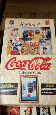 1995 Collect-A-Card Coca Cola Series 4 Unopened Collector Pack Trading Card Box