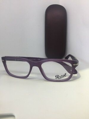 a5ea85d289c60 New Authentic Persol 3012-V 990 Matte Purple Eyeglasses Rx Frame ITALY 52-18