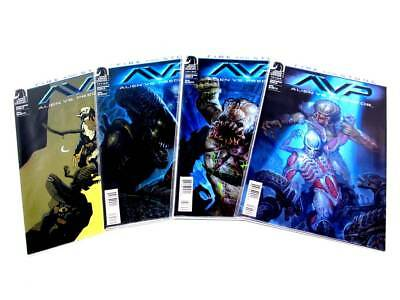 Dark Horse Aliens Vs Predator Fire And Stone Complete With #1 Variant 1-4 Nm