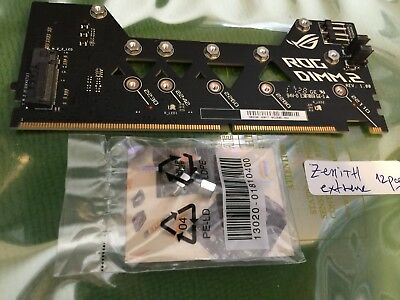 ASUS ROG ZENITH EXTREME  RAMPAGE VI EXTREME ROG DIMM.2 card with 2 x M key