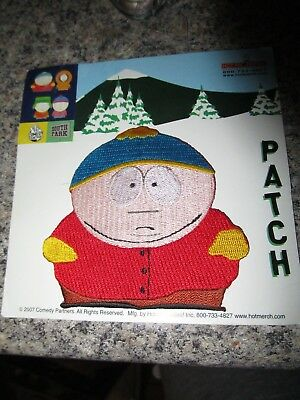 2007 South Park sew on patch Cartman new on card