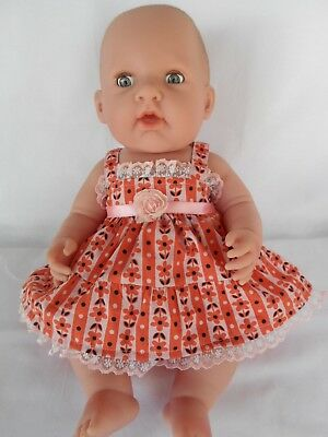 "Handmade dolls clothes (Dress, pants set) suit 40cm ""Missy Kissy"" Berenguer doll"