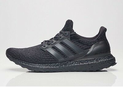 5fb796df9 Adidas Ultra Boost 3.0 Triple Black BA8920 Size 9.5 - nmd yeezy pirate  apple red