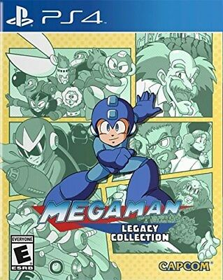 Playstation 4 Ps4 Game Megaman Legacy Collection Brand New And Sealed