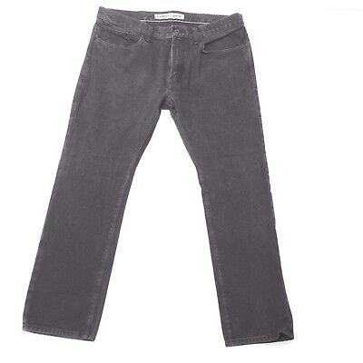 Express Mens Jeans Black/Gray Two large pockets on Front and Back Rocco Slim fit