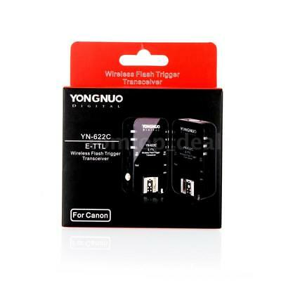 Yongnuo YN-622C Wireless TTL Flash Trigger Transeiver for Canon 7D 5DII DT K2A1