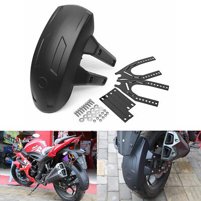 For Motorcycle Rear Wheel Fender Splash Guard Cover Mudguard Repairment Plastic
