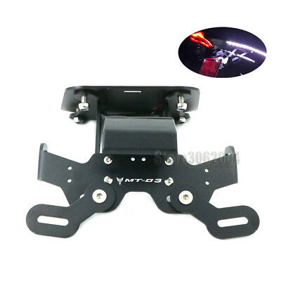 Tail Tidy Fender Eliminator License Plate Holder For YAMAHA MT-03 MT03 2015 2017