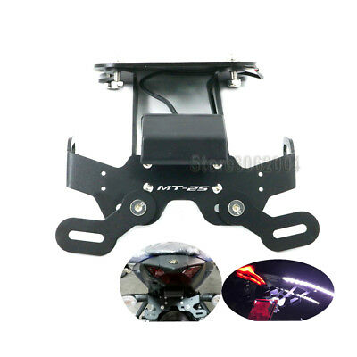 Tail Tidy Fender Eliminator License Plate Holder For YAMAHA MT25 MT-25 2015-2017