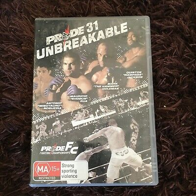 Pride 31 Unbreakable Dvd. Fighting Championships