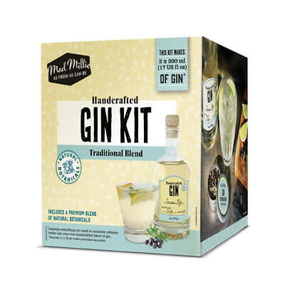Handcrafted DIY Gin Kit-Traditional Botanical Blend, London Dry style-Mad Millie