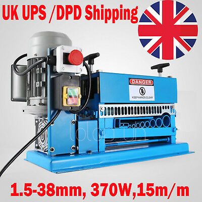 Scrap wire cable stripper stripping recycle machine automatic electric 1.5-38mm
