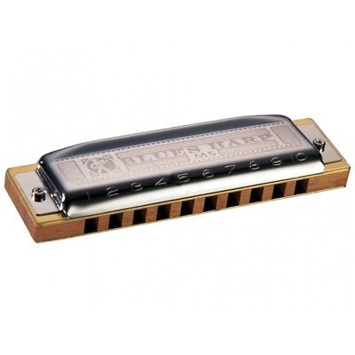 Hohner Blues Harp Ms 20 M533036 Armonica A Bocca In Re D Armonica Diatonica Re