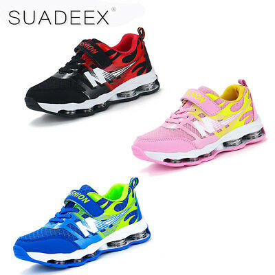 Boys Girls Breathable Sport Sneakers Kid Outdoor Althletic Walking Running Shoes