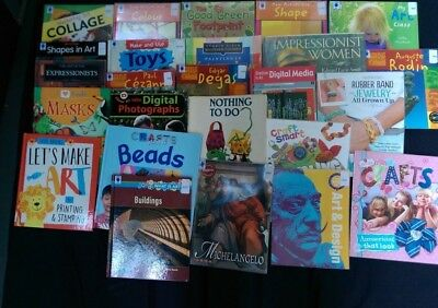 ART: Box of 25 Children's Educational Books