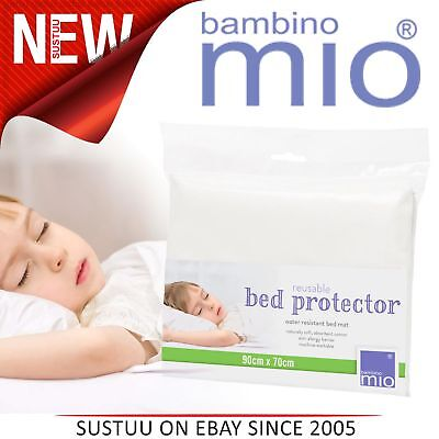 Bambino Mio Cot Bed/Single Bet Mattress Protector│Water Resistant│90cm x 70cm