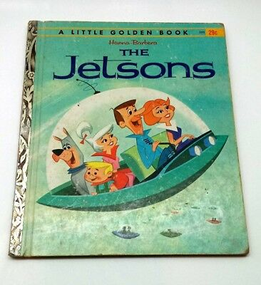 Vintage A Little Golden Book THE JETSONS 1962 First Edition A