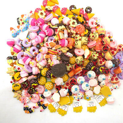 10pcs/lot Mini Play Toy Food Cake Biscuit Donuts Miniature For Barbie Dolls Gift