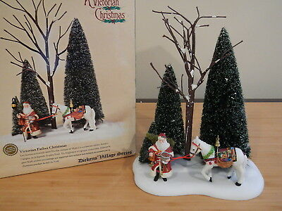Dept 56 Dickens Village - Victorian Father Christmas - Missing Lantern