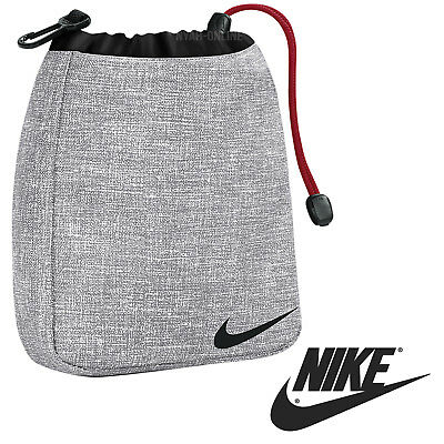 358b4bdc50 NEW Nike VALUABLES POUCH  GREY  SPORTS SWOOSH BAG MENS GOLF GYM SHOULDER  WAIST