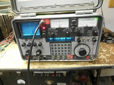 IFR FM/AM-1200S 1200S Service Monitor *Calibrated* FW 7.1.03 Opts 1,10, 12, 14