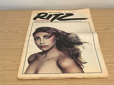 1979 (No.28) Bailey & Litchfield's Ritz Fashion Newspaper - Sydney Rome