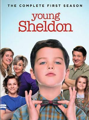 Young Sheldon: The Complete First Season New Dvd