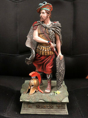 Duncan Royale Calendar Secrets March Figurine Scotsman w/ Shield Statue 13 1/2""