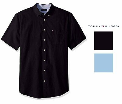 320c68973 TOMMY HILFIGER MENS Big and Tall Button Down Short Sleeve -  52.99 ...