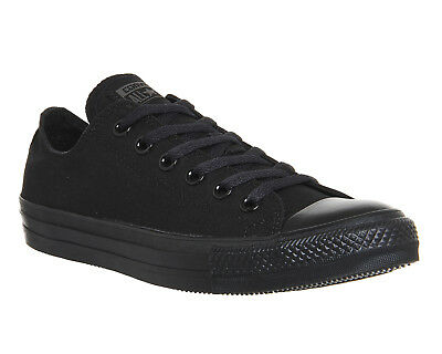 beb68a81ca2f Converse Chuck Taylor All Star Ox M5039 Black Monochrome Canvas Unisex Mens  Size