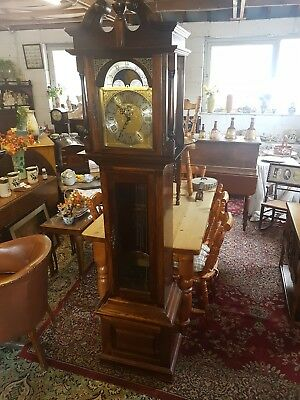 Cherry Wood long case Grandfather Clock by the Emperor