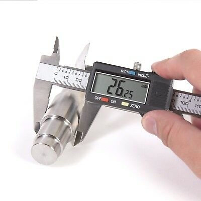Electronic Digital Caliper Stainless Steel Large LCD Screen MM or Inch