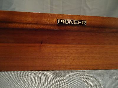 Pioneer PL-50A Stereo Turntable Parting Out Plinth..... Look Nice!!!!